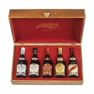 Set of Five Balsamic Vinegars of Modena IGP