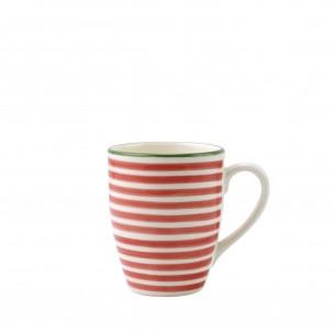 Mistletoe Stripe Mug