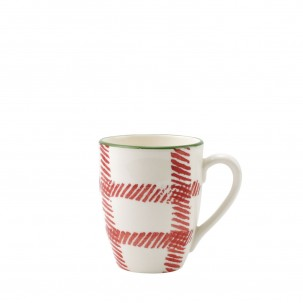 Mistletoe Plaid Mug