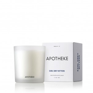 Earl Grey Bitters Scented Candle 11 oz - Apotheke | Eataly.com