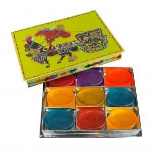 'Lime Green' Gift Box - Set of 9