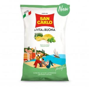 Pesto Flavored Potato Chips 5.3 oz
