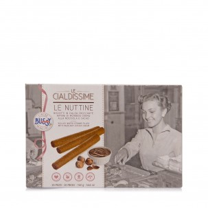 Le Nuttine Rolled Wafer Straws filled with Cream 5.6 oz