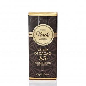 Mini Cuor di Cacao 85% Dark Chocolate Bar 1.6oz