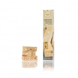 Cremino White Chocolate Gianduja and Salted Nuts Bar 2.8 oz