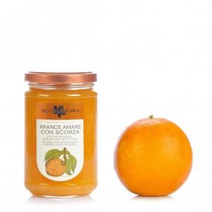 Orange Jam with Peel 12.3 oz