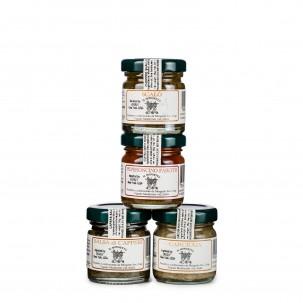 4 Aperitif Condiment Set