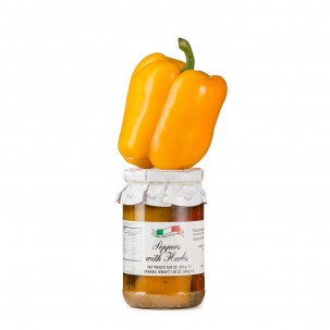 Herbed Bell Peppers in Olive Oil 9.9 oz