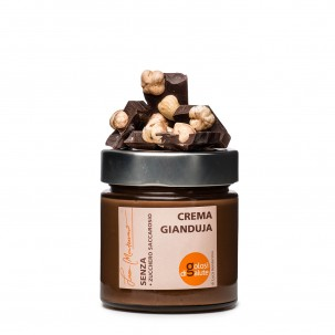 Sugar-free Gianduja Chocolate Cream 8.8 oz