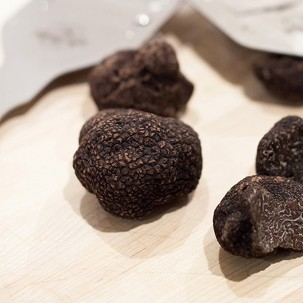 Fresh Black Winter Truffles 2 oz