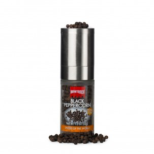 Whole Black Peppercorn Grinder 1.5 oz