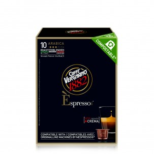 Espresso Arabica Compostable Capsules, 10-pack