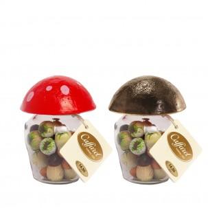 Milk Chocolates in Mushroom Jar 6 oz - Caffarel | Eataly.com