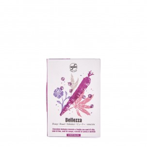 Bellezza Organic Chocolate Bar with Chia 1.76 oz