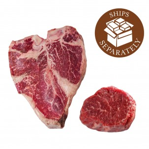 Wagyu Gold Porterhouse & Wagyu Gold Filet Mignon