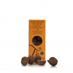 Dark Chocolate Truffles with Rum 4.6 oz
