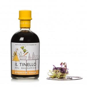 'Il Tinello' Yellow Label Balsamic Vinegar of Modena IGP 8.82 oz