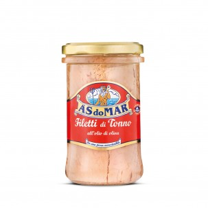 Tuna Fillets in Olive Oil - Jar 8.81 oz