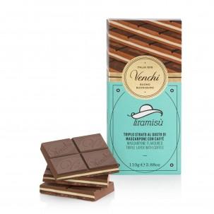 Tiramisù Milk Chocolate Bar 3.5 oz - Venchi | Eataly.com