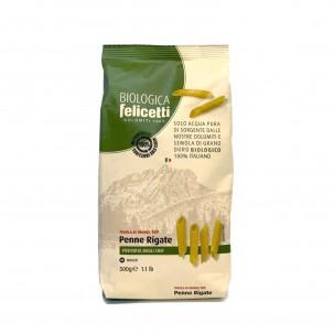 Organic Penne Rigate 17.6 oz - Felicetti