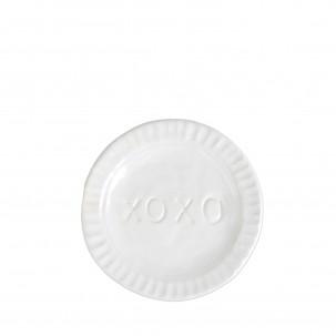 Pietra Serena XOXO Plate - Vietri | Eataly.com