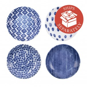 Santorini Assorted Pasta Bowls - Set of 4 - Vietri | Eataly.com