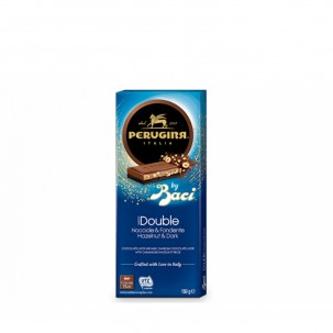 Dark Chocolate and Double Hazelnut Bar 5.2 Oz