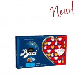 12 pieces Baci Dark Chocolates in Valentine's Day Box 5.29oz