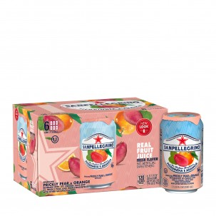 Prickly Pear and Orange Sparkling Soda 11 oz - Case of 6