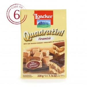 Tiramisù Quadratini 7.7 oz - Case of 6