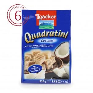 Coconut Quadratini 8.8 oz - Case of 6