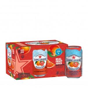 Aranciata Rossa Blood Orange Sparkling Soda 11 oz - Case of 6