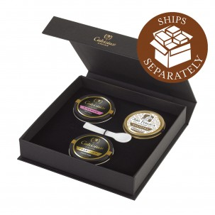 Caviar Three-Pack: Royal, Tradition, and