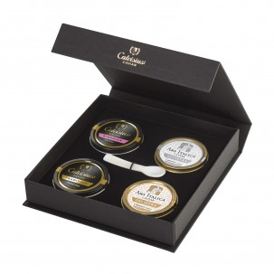 Caviar Four-Pack: Royal, Classic, Tradit
