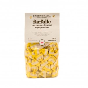 Lemon, Turmeric, and Pepper Farfalle 8.8 oz