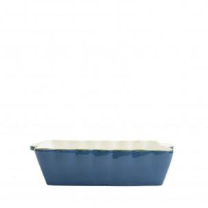 Italian Bakers Blue Medium Rectangular Baker