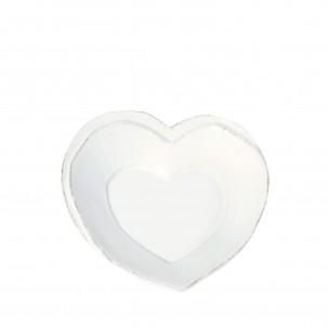Lastra White Heart Dish - Vietri   Eataly.com