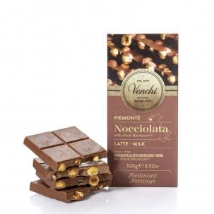 Chocolight Milk Chocolate with Hazelnuts Bar 3.5 oz