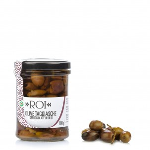 Pitted Taggiasca Olives 6.3 oz