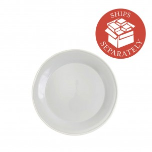 Chroma Light Gray Dinner Plate - Vietri | Eataly.com