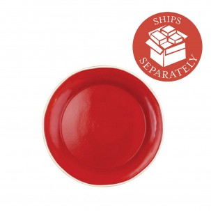 Chroma Red Dinner Plate - Vietri | Eataly.com