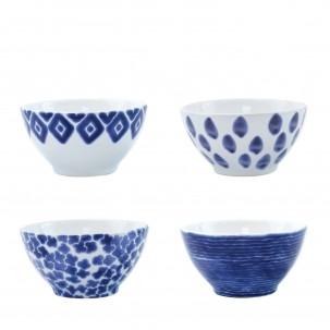 Santorini Assorted Cereal Bowls - Set of 4