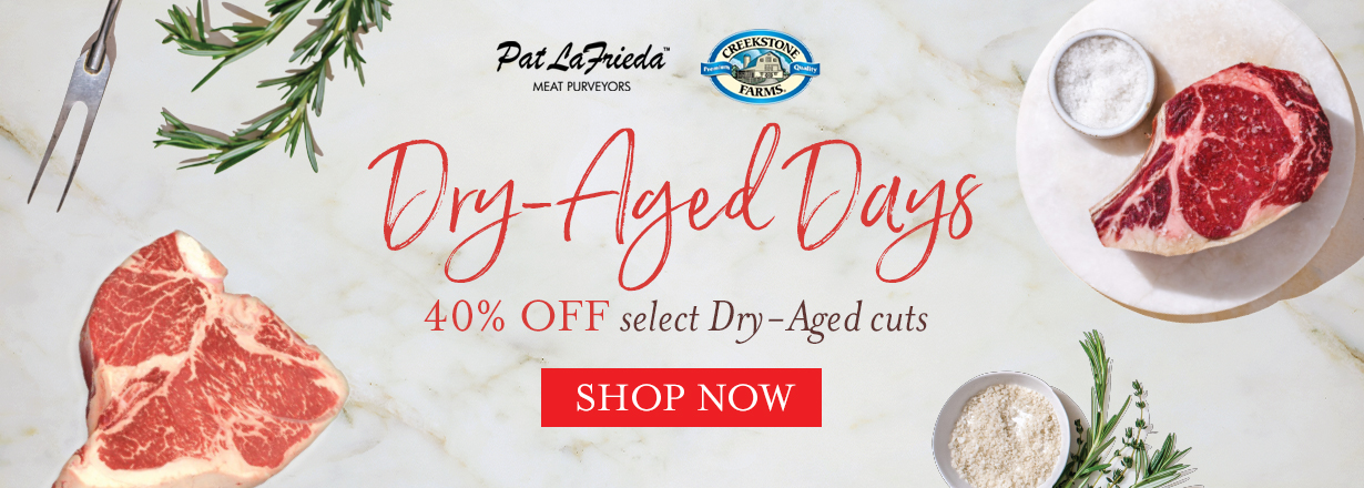 shop 40% off dry aged cuts