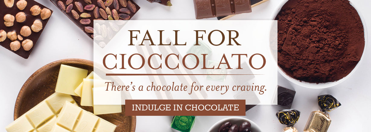 Fall For Eataly Chocolate