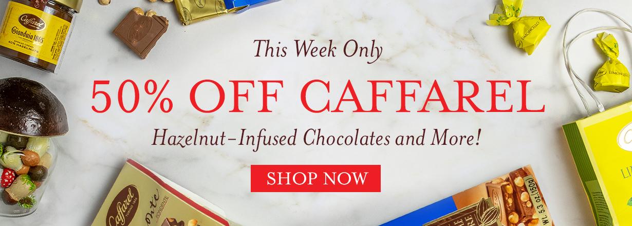 shop 50% off caffarel