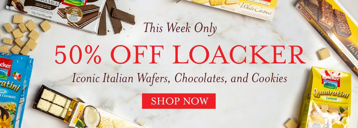 Shop 50% off loacker