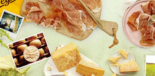 Salumi and formaggi